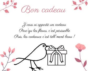 Gift card, gift voucher, gift voucher