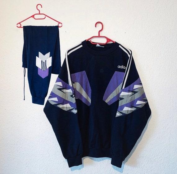 Vintage Adidas Tracksuit Trainingsanzug Retro 80s