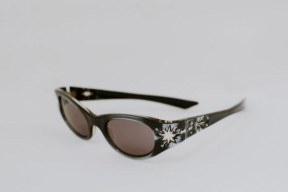Vintage 60's Rhinestone Sunglasses