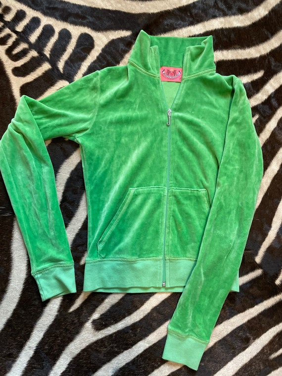 Juicy Couture velour track jacket - XS!