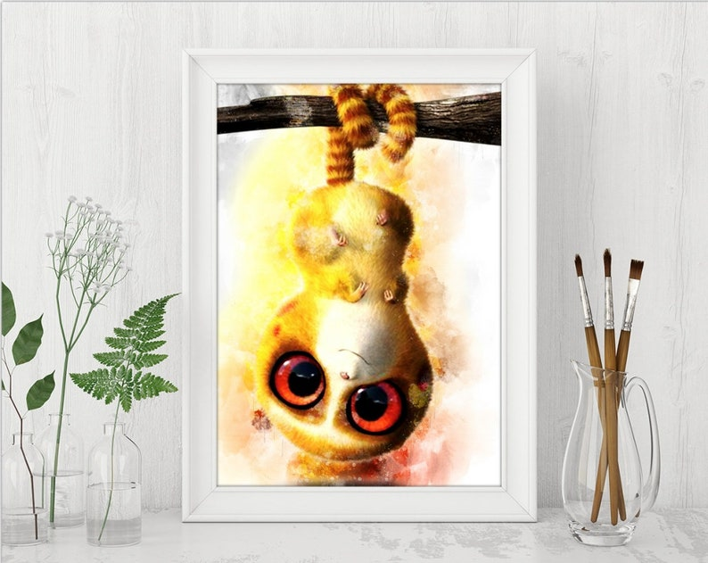 Belt The Croods Printable INSTANT DOWNLOAD Digital The Croods Birthday Party Print The Croods Nursery Watercolor Poster n465