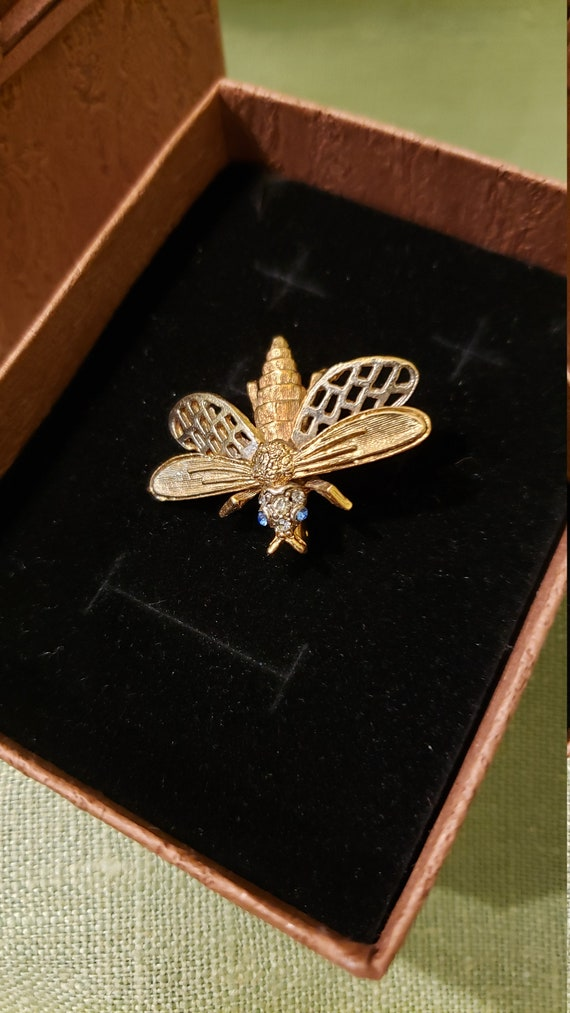 Art Insect Brooch