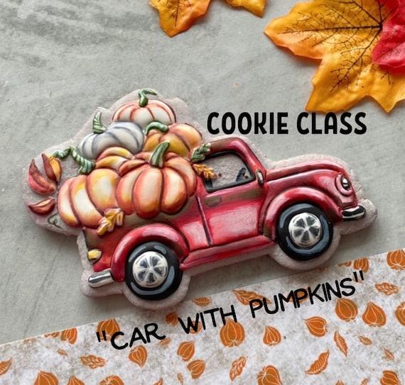 Cookie class - Pumpkin car