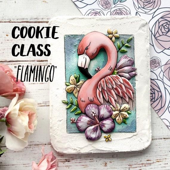 Cookie class - Flamingo