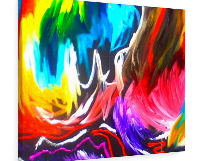 Stretched canvas Funkalicious