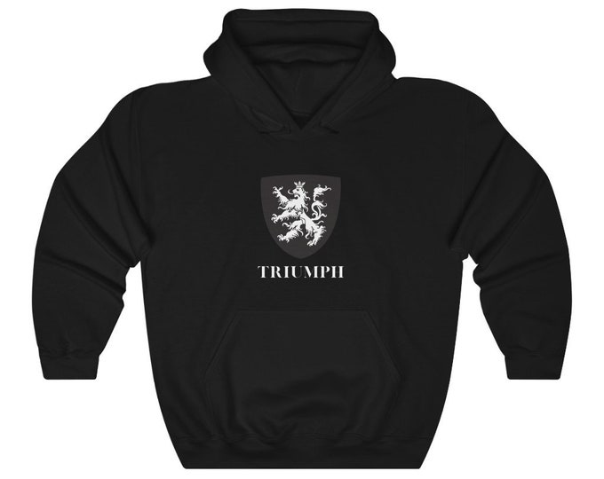 Unisex Heavy Blend Hooded Sweatshirt Lion Triumph