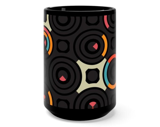 Black Mug 15oz Hot Chocolate