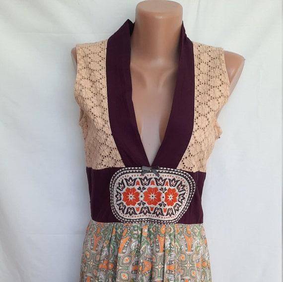 Vintage dress, Rare, Odd Molly, Embroidered, Hunga