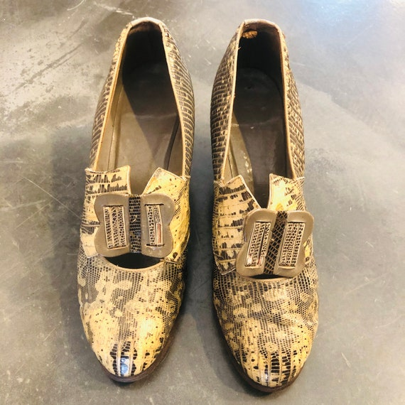 SHOES FROM THE 1930S