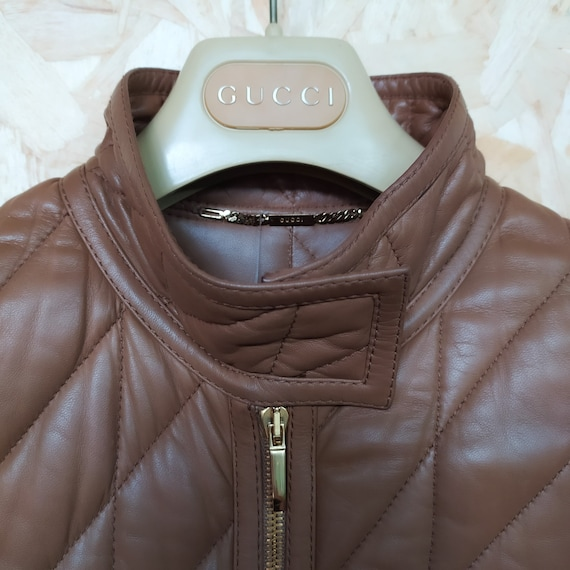GUCCI Trench Leather