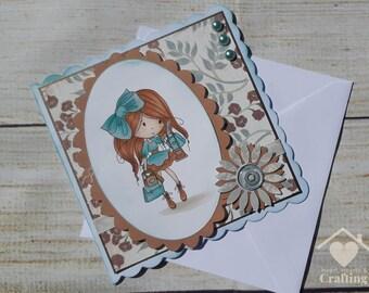 Winnie Sunshine Delight Busy Handmade Card