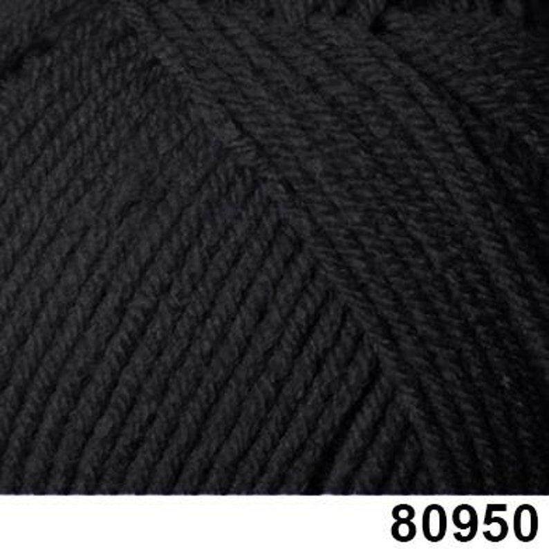 Himalaya Yarn - Super Soft DK Black 100g