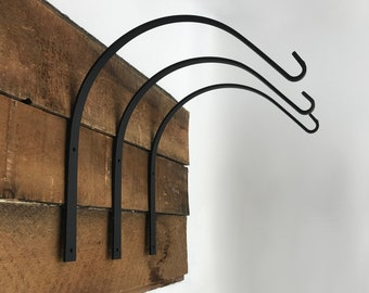 Arched Hook Plant Hanger Hook Amish Made Hand Forged