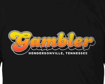 Retro Gambler Chassis Logo tee