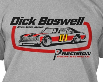 Dick Boswell Vintage Stock Car Shirt