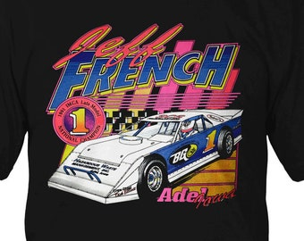 90s Late model Racing Shirt - Jeff French
