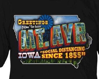 Mt. Ayr Iowa Social Distancing since 1855