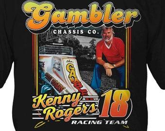 The Gambler - Kenny Rogers Racing Team Shirt