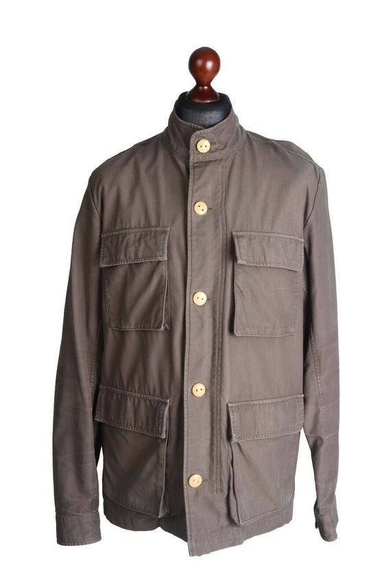 Men's CARHARTT Olive 100% Cotton Military Multipoc
