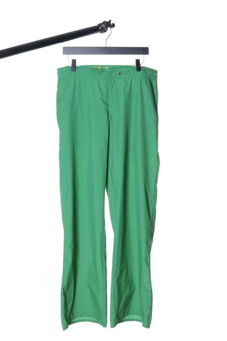 Men/'s RICHMOND DENIM Green Beachwear Nylon Straight Trousers Pants Size 48