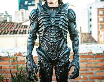Suit-Cosplay Alien Warrior