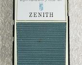 8 Transistor Royal 10 Zenith Am Shirt Pocket Transistor Radio model r10 C