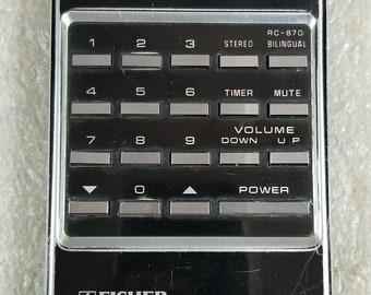 Original FISHER Remote Control RC-870 *UNTESTED*