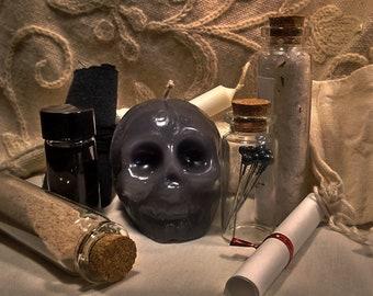 Black Skull Commanding Compelling Spell Kit