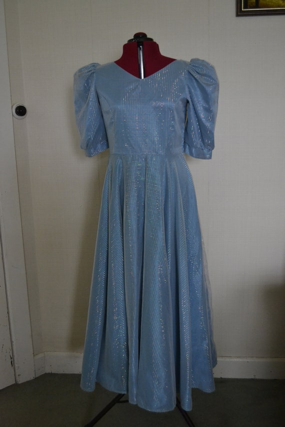 1980s Prom Dress  Mid Size