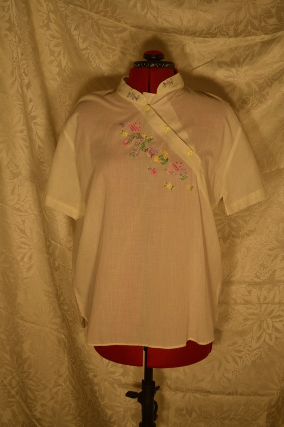 1940s cotton blouse