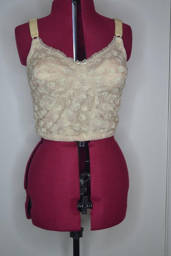 1960s longline bra