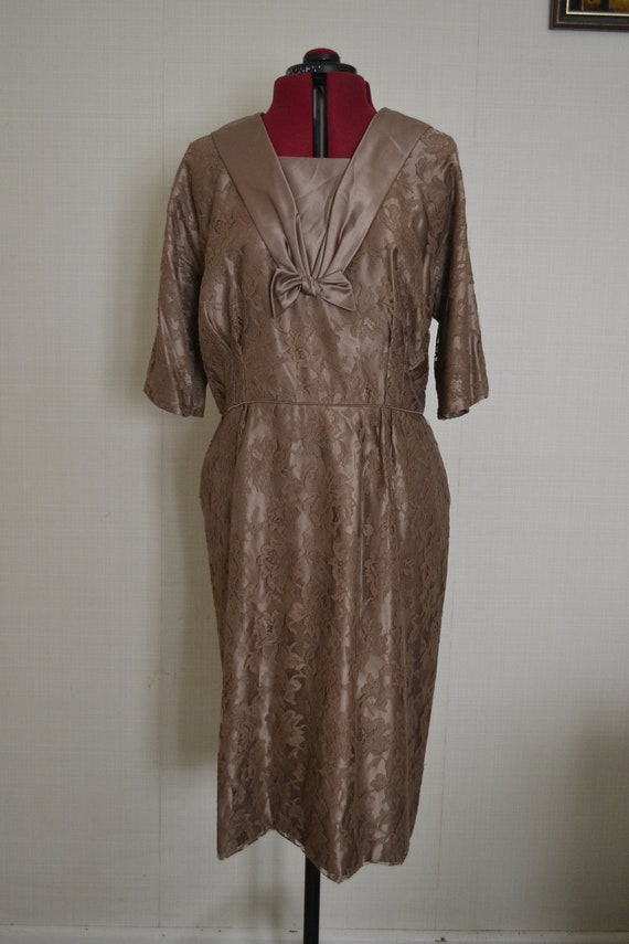 1940s Cocktail Dress Volup