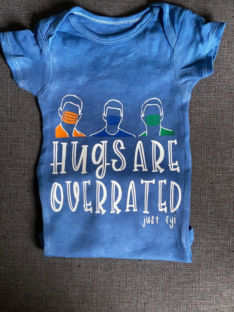 Kids Hugs Are Overrated onesiesTees