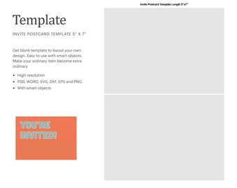 5X7 Template For Word from i.etsystatic.com