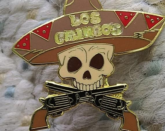 Los Gringos - Grateful Dead - Dead - The Boys - Glow Lapel Pin