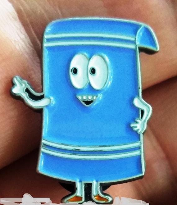 Mini Pin - Towelie - 2/3 inch Towelies - Small Pin - Towelie