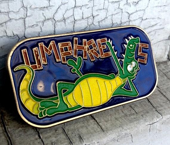 Festival Pin - UM - Umphreys 2014 - Wanee - Glow Pin -Alligator Love