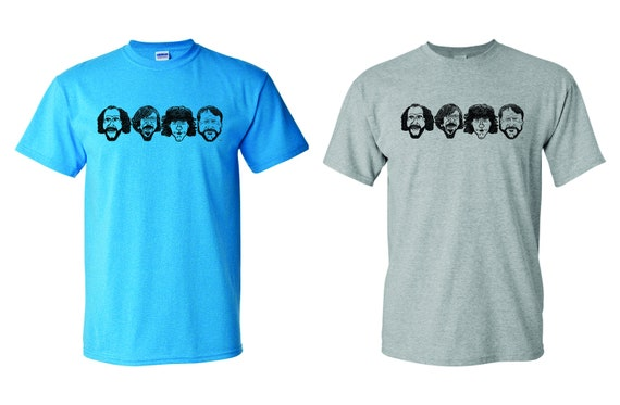 Facetoons - Phish - Original Design T Shirt - Phish Facetoons