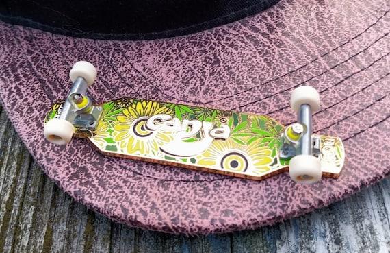 Brim Board pin - Ganja Longboard - OGPinner Original - GWN inspired!
