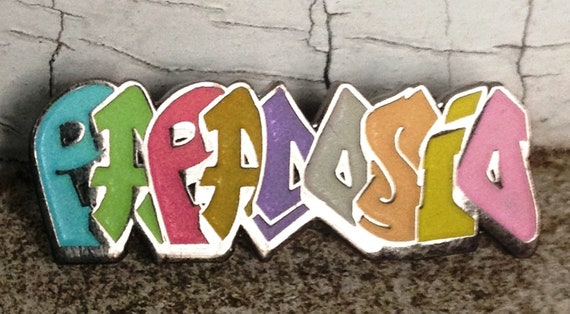 Dosio Grafitti  - Glow Grafitti Papadosio Lapel Pin - Dosio