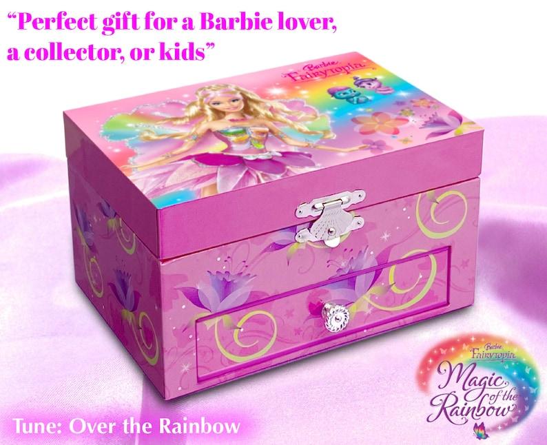 Vintage Musical Jewelry Box Musical Box Musical Jewelry Box for Girls Musical Jewelry Box Barbie Fairytopia Musical Jewelry Box