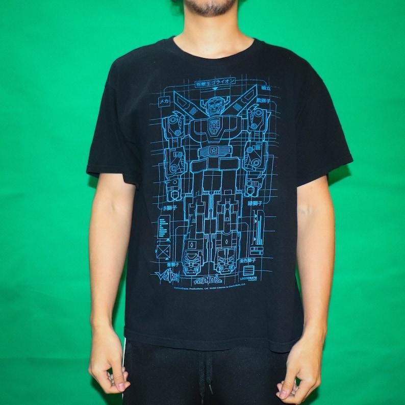 Mecha Robot Design T-shirt image 0