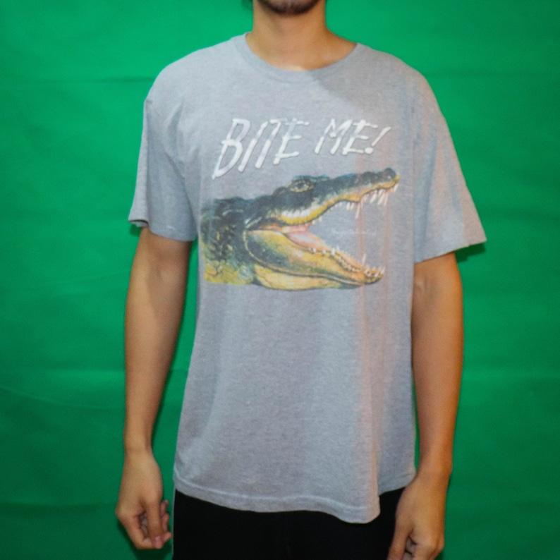 Bite Me Alligator T-shirt image 0