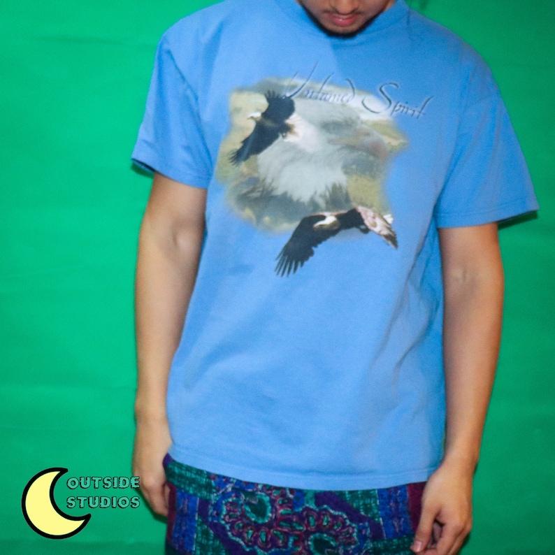 Vintage Untamed Spirit Eagle T-shirt image 0