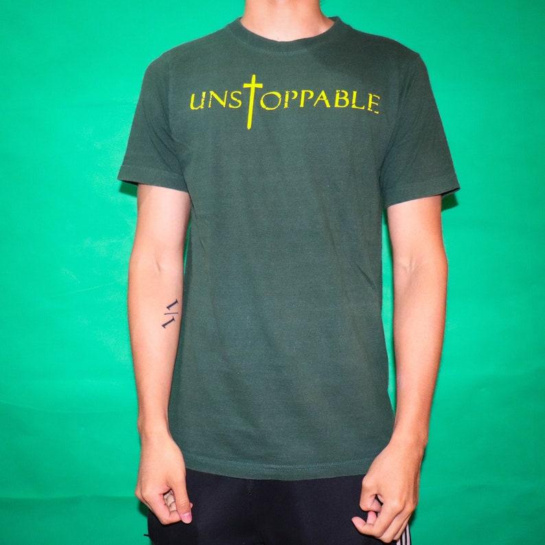 Unstoppable Cross T-shirt image 0