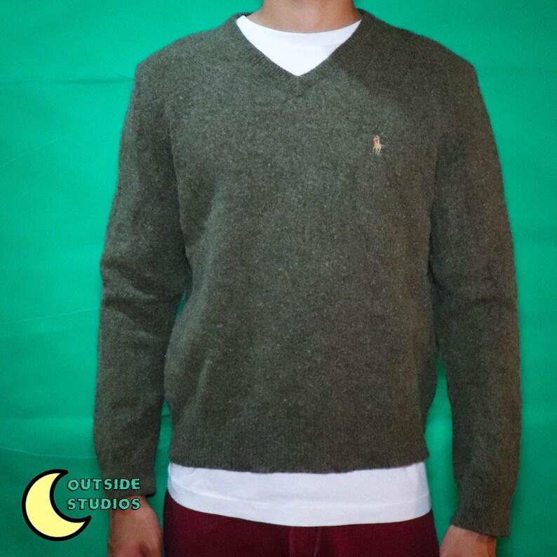 Lambs Wool Polo Sweater image 0