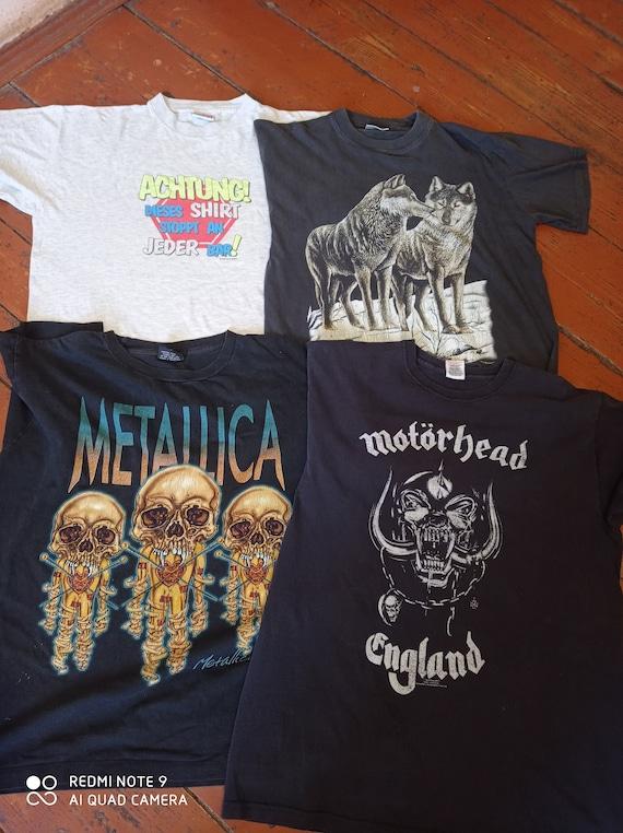 Vintage  4 t-shirts