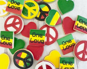 One Love Cookies Free Shipping