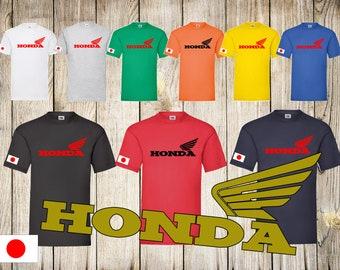 Honda Motorcycle Mens /Unisex Classic Motorbike Chopper Biker Bike T shirt Top