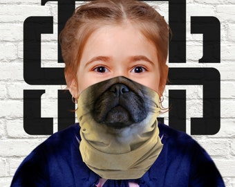 Made to Order Scarves The Cold Snap Snood ~ Frenchies Bulldogs Snoods /& Cowls ~ Pet Accessories All Dogs or Cats